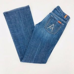 7 For All Mankind A Pockets Flare Jeans